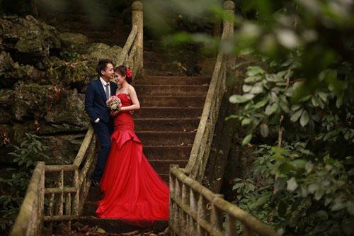 """Bộ hình cưới ngọt ngào của cặp đôi """"mối tình đầu""""-15"""