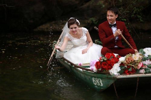 """Bộ hình cưới ngọt ngào của cặp đôi """"mối tình đầu""""-4"""
