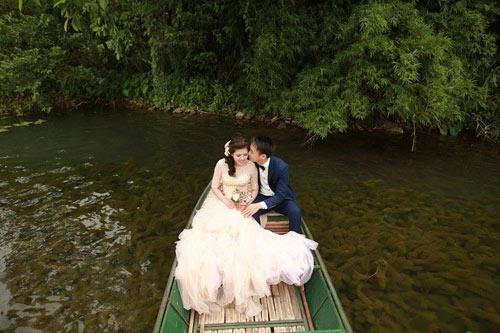 """Bộ hình cưới ngọt ngào của cặp đôi """"mối tình đầu""""-6"""