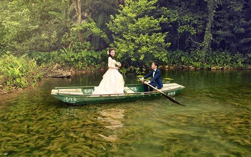 """Bộ hình cưới ngọt ngào của cặp đôi """"mối tình đầu""""-10"""
