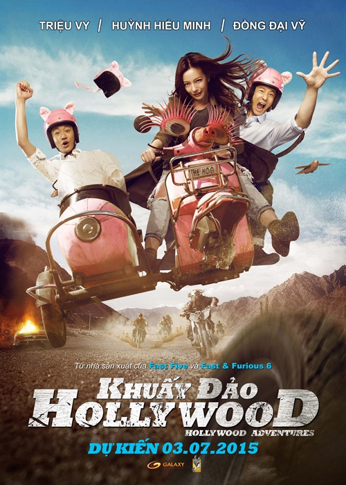 """khuay dao hollywood"": lam fanboy that tuyet! - 1"