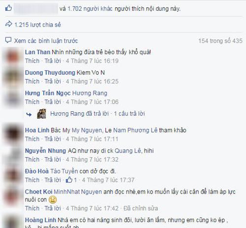 """tam dac voi loi """"chuc mung nhung ba me co con coi"""" - 2"""