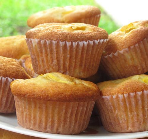 hap dan voi banh muffin xoai sua chua - 4