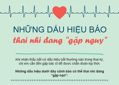 """12 dau hieu bao thai ky cua ban dang """"khong on"""" - 1"""