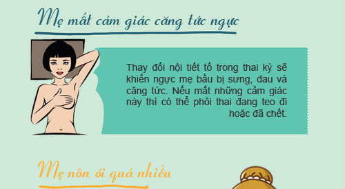 """12 dau hieu bao thai ky cua ban dang """"khong on"""" - 2"""