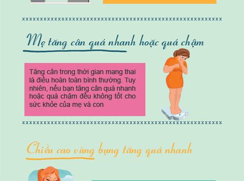 """12 dau hieu bao thai ky cua ban dang """"khong on"""" - 4"""