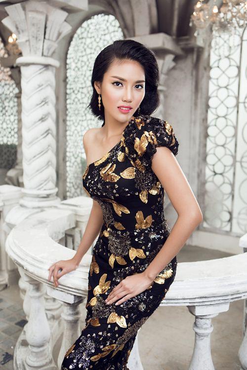 lan khue khoe duong cong sexy voi vay da hoi cau ky - 3