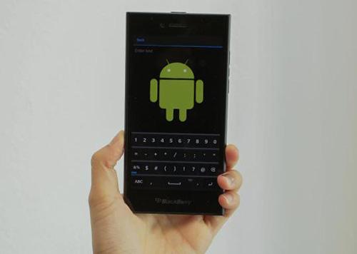 blackberry sap ra smartphone android, do dai loan san xuat - 1