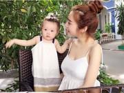 Làm mẹ - Elly Trần hào hứng khoe clip con gái tập đi