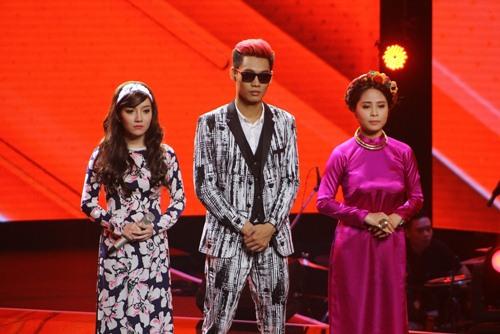 the voice 2015: thu phuong, tuan hung but rut khi phai loai hoc tro - 6