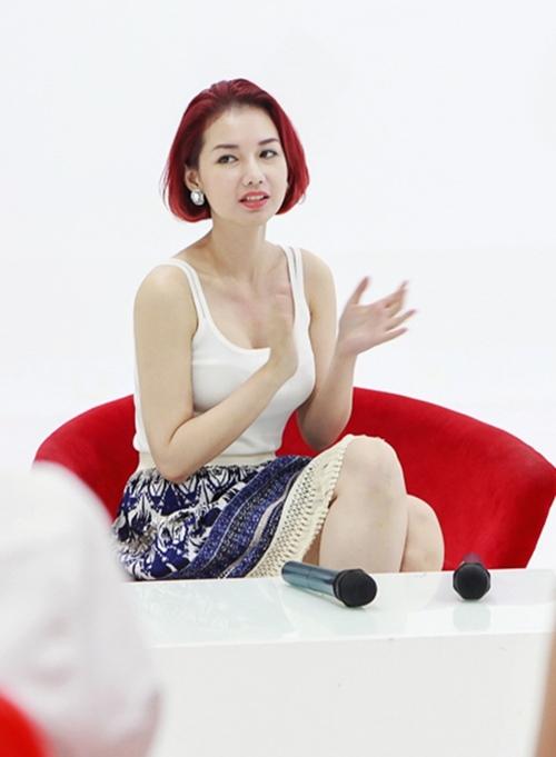 """sau ly hon, quỳnh chi """"lot xac"""" voi hinh tuong goi cam - 12"""