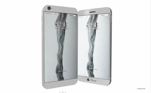 iphone 8 co 2 man hinh va ban phim laser - 2