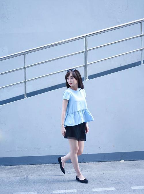 """thieu nu viet ngay cang chuong mac ao """"ba bau"""" - 8"""