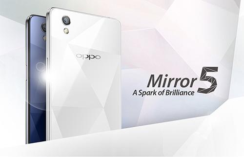 """""""vien kim cuong"""" oppo mirror 5 chinh thuc ra mat - 1"""