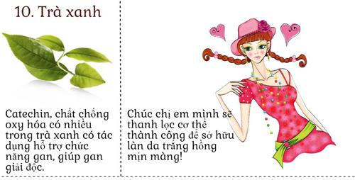 10 thuc pham giup thanh loc co the de da dep khong ty vet - 5