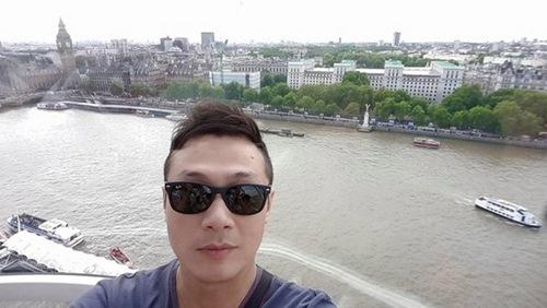 vo chong mc anh tuan hanh phuc di du lich london - 8