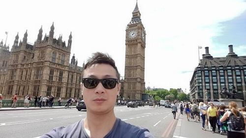 vo chong mc anh tuan hanh phuc di du lich london - 9