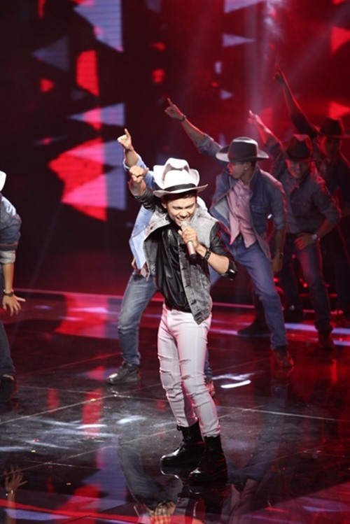 the voice 2015: my tam chon hit cua son tung cho hoc tro - 9