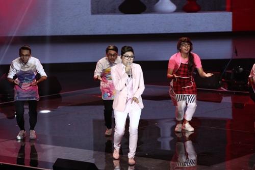 the voice 2015: my tam chon hit cua son tung cho hoc tro - 12
