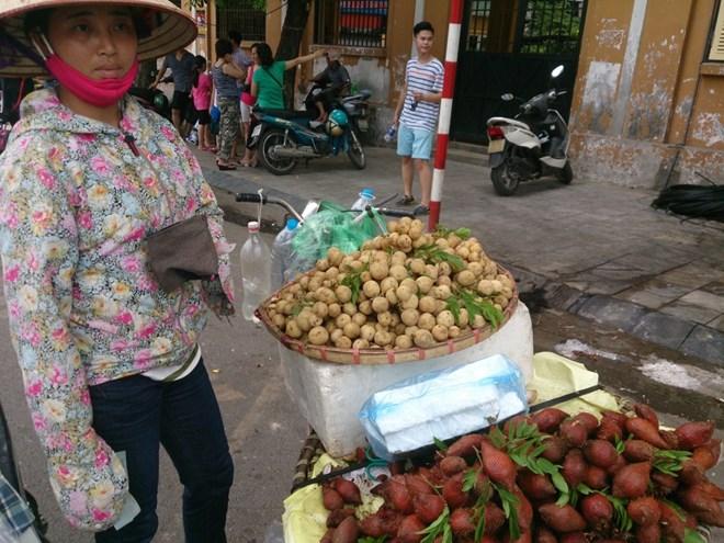 """dan so """"hang tau"""", hoa qua thai lan tran ngap hn - 1"""