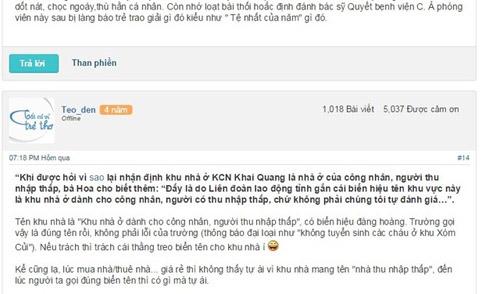 """xon xao thong bao """"tu choi"""" con nguoi ngheo cua mot truong mam non - 3"""