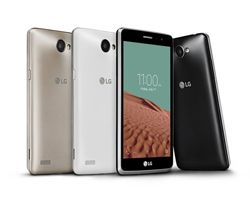 lg ra mat smartphone gia re voi camera truoc 5 mp - 1