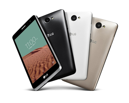 lg ra mat smartphone gia re voi camera truoc 5 mp - 2