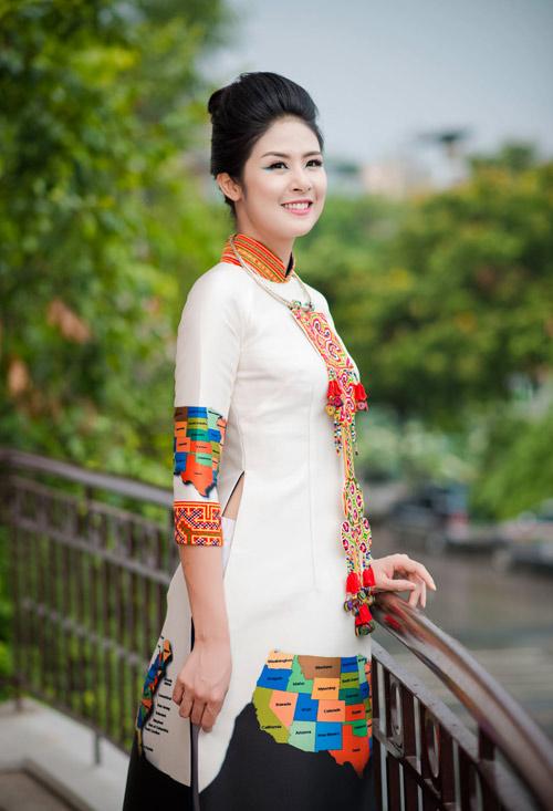 hh ngoc han long lay lam vedette cho ntk minh hanh - 3