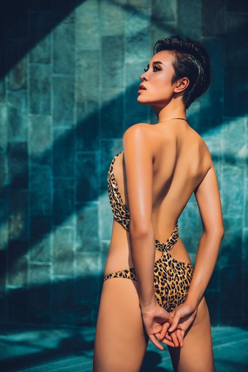 phuong mai goi cam tung centimet voi bikini - 3