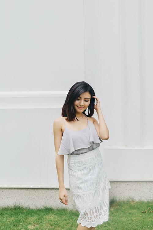 """chon vay ao """"an gian"""" chieu cao cho chan ngan - 14"""
