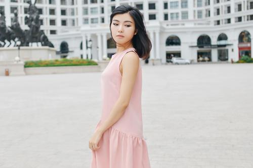 """chon vay ao """"an gian"""" chieu cao cho chan ngan - 3"""