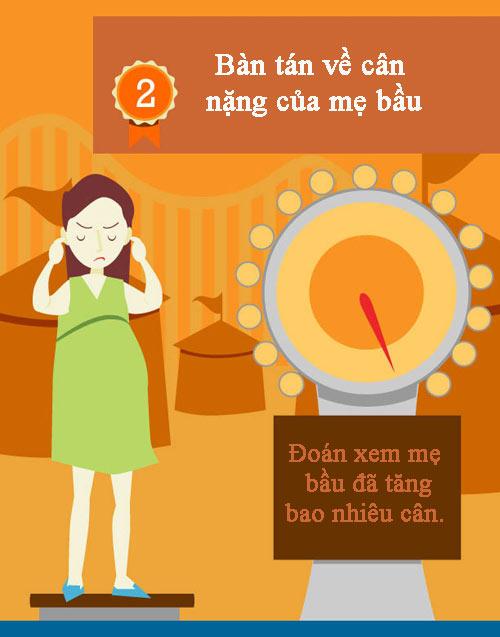 """10 viec ban lam co the khien me bau """"noi nong"""" - 3"""