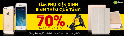 giam gia 70% cac san pham phu kien dien thoai tren deca - 1
