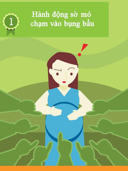 """10 viec ban lam co the khien me bau """"noi nong"""" - 2"""
