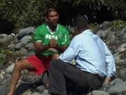 Tin quốc tế - Người dọn bãi biển kể lại việc phát hiện mảnh vỡ nghi của MH370