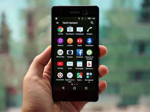 smartphone mói vièn sieu mỏng, camera truóc 13 mp của sony bị rò rỉ - 2