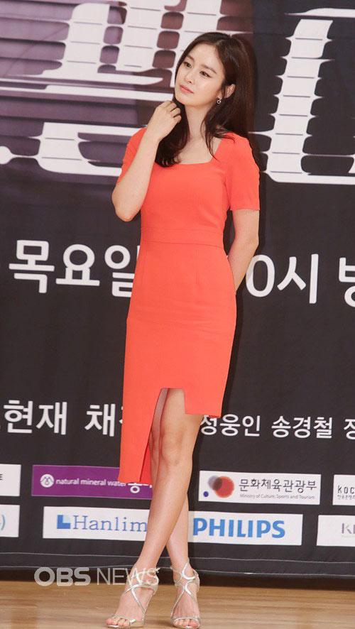 """""""ngoc nu"""" kim tae hee giam 4kg dong phim moi - 2"""