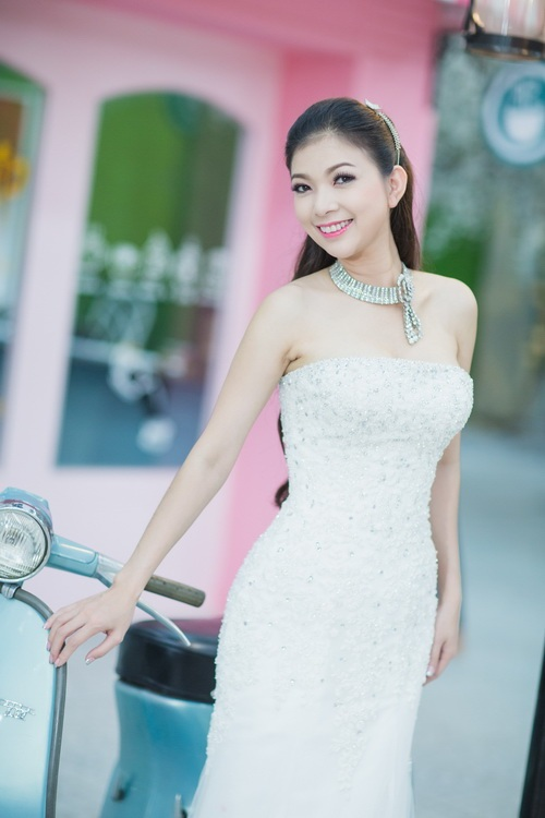 """pham thanh thao khoe """"anh cuoi muon"""" ben chong - 6"""