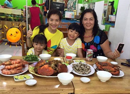 "cap song sinh nha hong nhung ""sanh dieu"" di uong tra - 9"