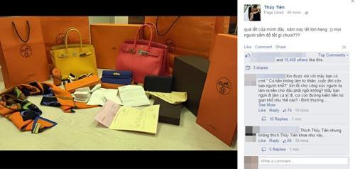 """sao viet bi """"nem da"""" vi khoe hang hieu tren facebook - 3"""