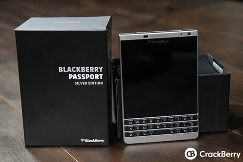 "blackberry passport ""bac"" lo dien - 1"