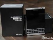 """Eva Sành điệu - BlackBerry Passport """"Bạc"""" lộ diện"""