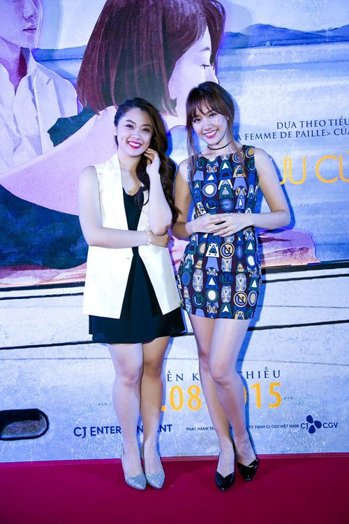 "hari won tu tin do sac voc voi ""hot girl vietnam idol 2015"" - 2"