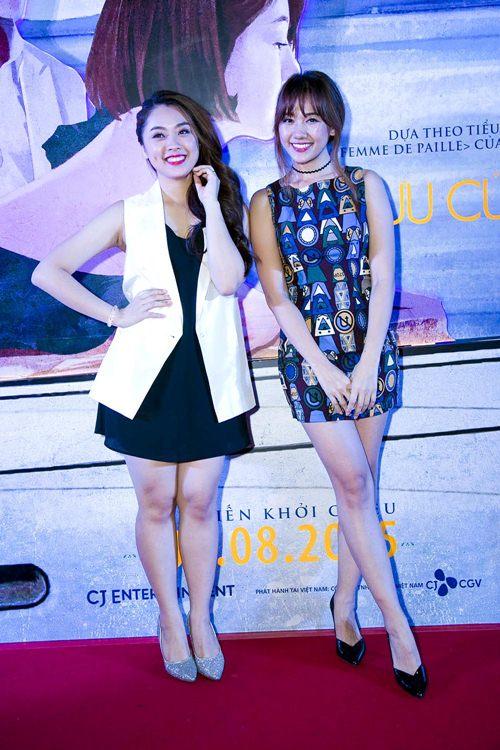 "hari won tu tin do sac voc voi ""hot girl vietnam idol 2015"" - 1"