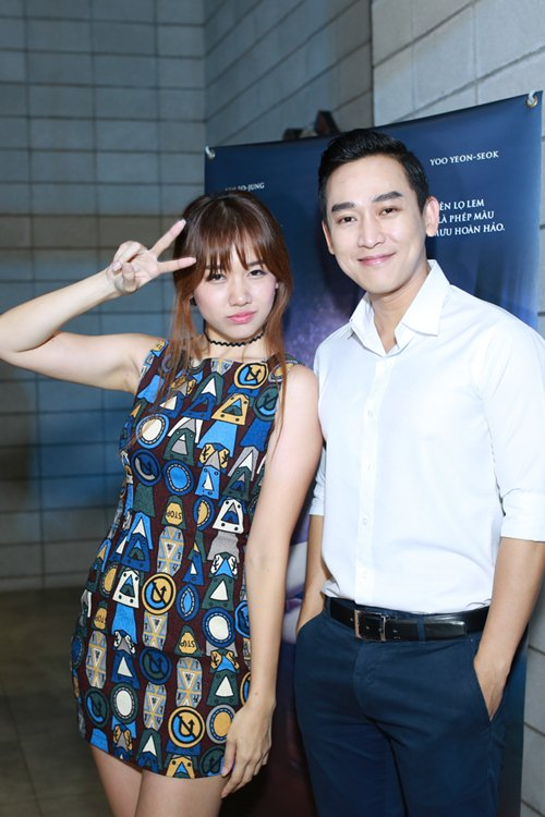 "hari won tu tin do sac voc voi ""hot girl vietnam idol 2015"" - 5"
