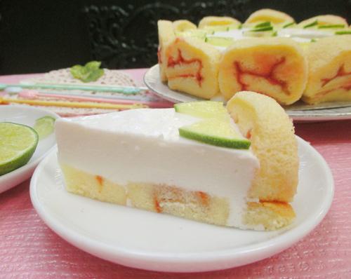 Bánh charlotte chanh sữa chua tươi mát-15