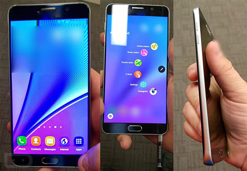 xuat hien anh tren tay galaxy note 5, chi la galaxy s6 phong to? - 1