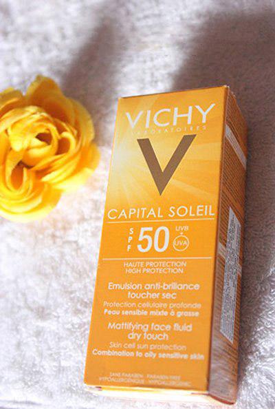 danh gia kem chong nang vichy capital soleil - 1