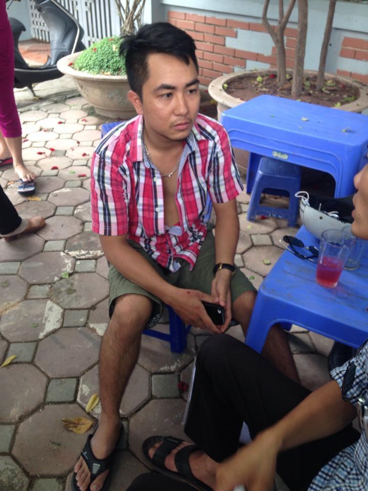 khong biet lai xe, muon taxi di thu roi …lao xuong song to lich - 3