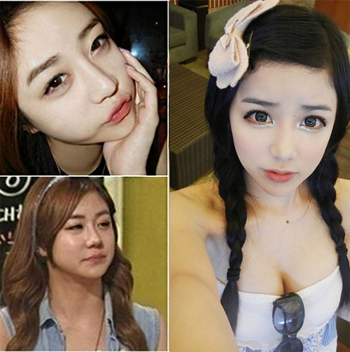 phat hoang voi nhan sac that cua cac hot girl xu han - 1